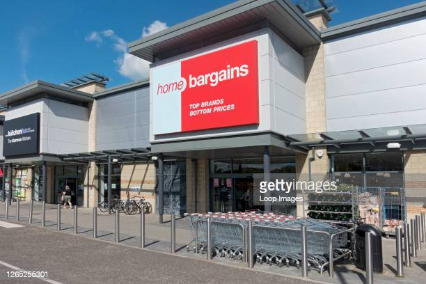 Home Bargains store shop at the Foss Islands Retail Park.