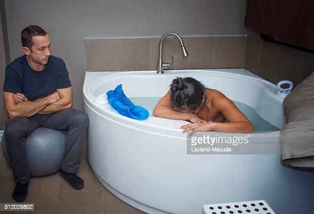 Home Birth Labor - Tub