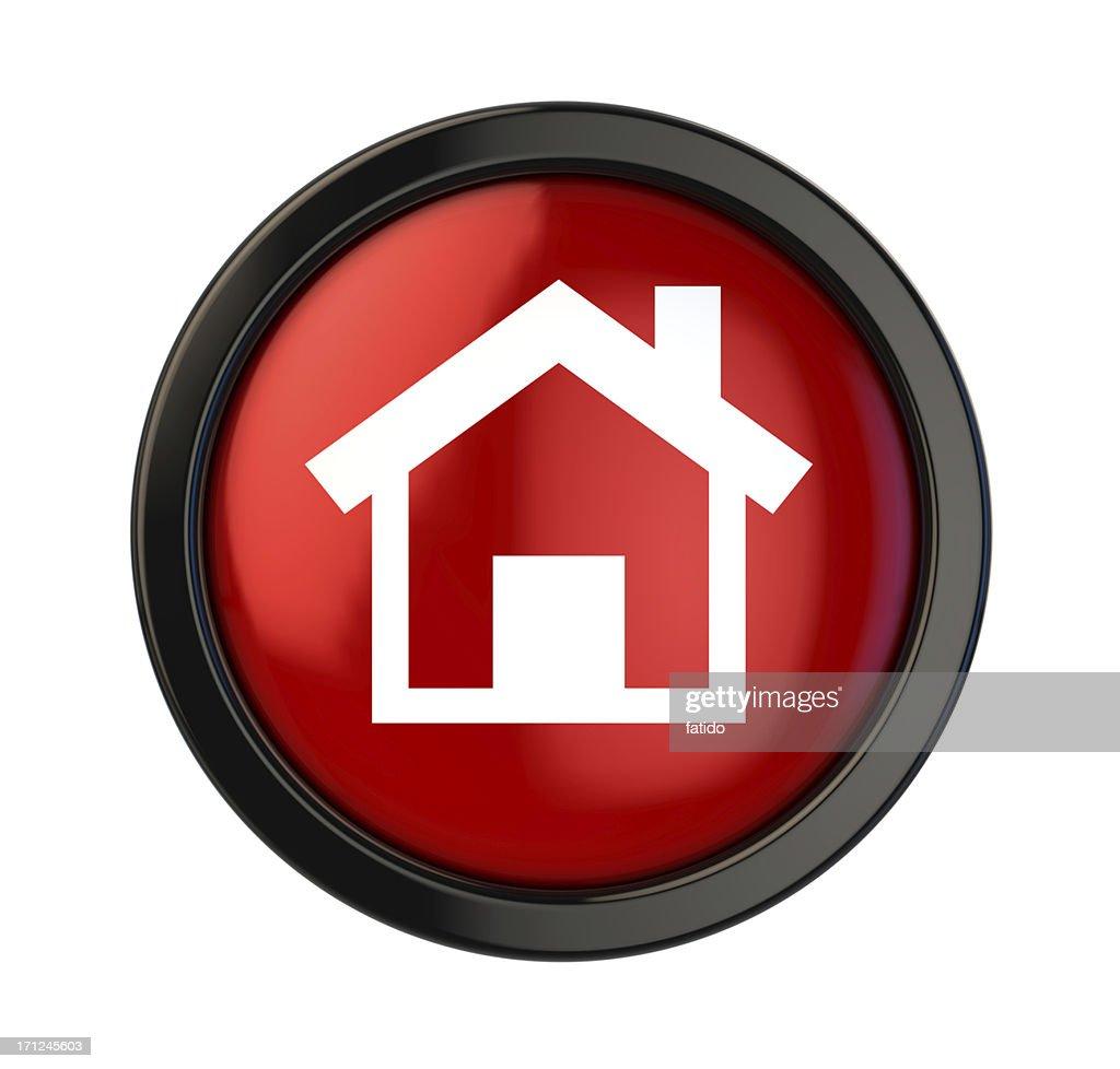 Home Button : Stock Photo