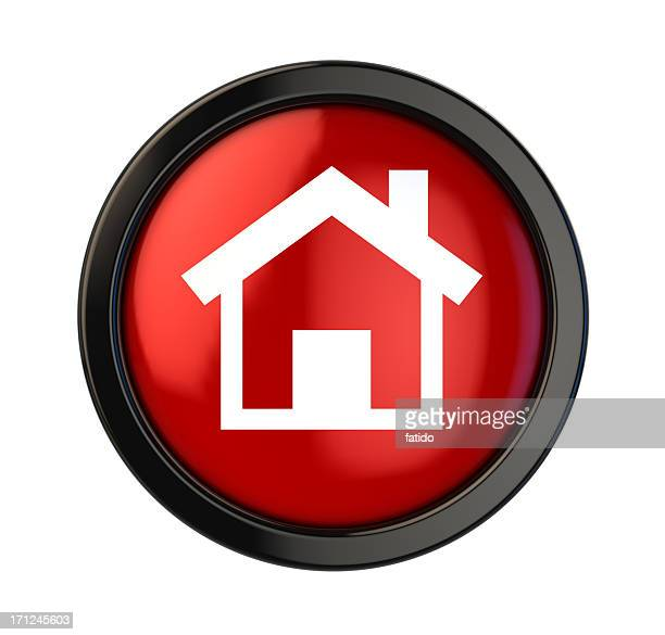 home button - home icon stock photos and pictures