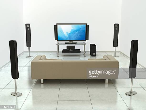 home cinema system - surrounding stock pictures, royalty-free photos & images