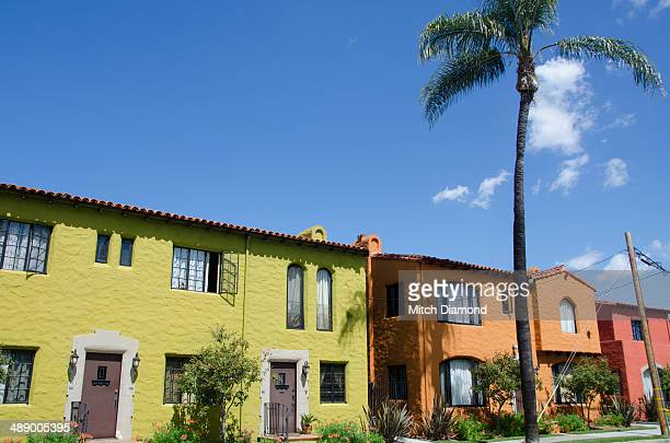 home colors - santa ana california stock pictures, royalty-free photos & images