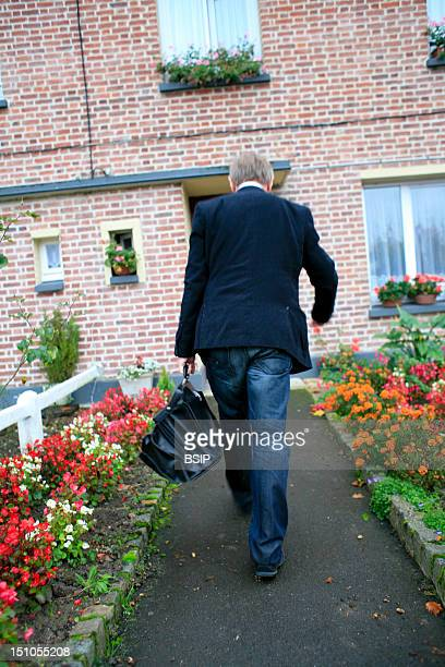 Home Consultation Of A General Practitioner Hazebrouck France