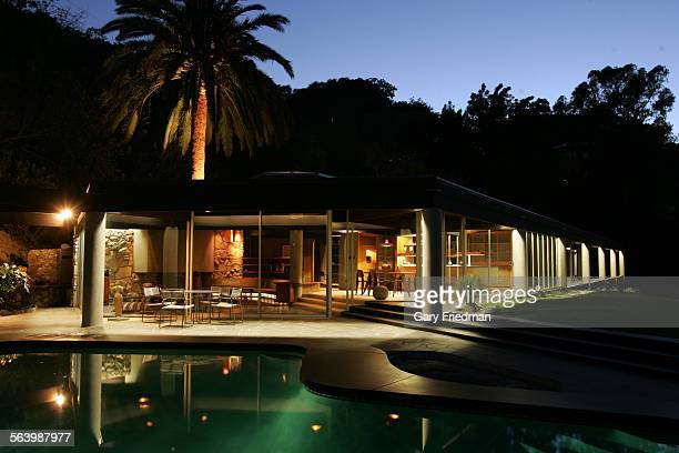Home cover story spread and expanded web photo gallery on the Harpel House by John Lautner one of the most important figures in the history of LA...