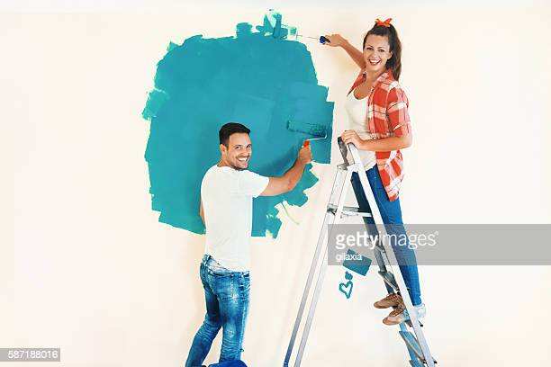 home decoration. - step ladder stock photos and pictures