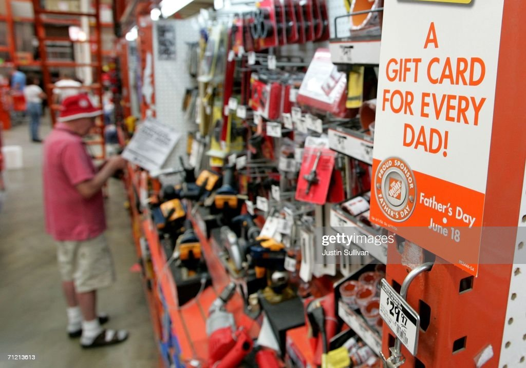 A Home Depot Customer Shops For Power Tools At A Home