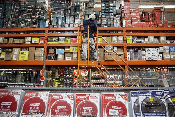 6be6db9406a A Home Depot employee retrieves power tools at the company s store in  Torrance California US on