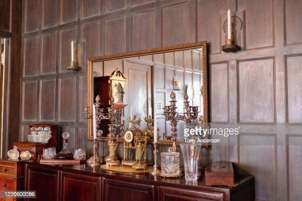 home dining room interior - 古代の遺物 ストックフォトと画像