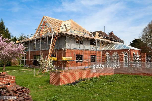 Home Extension Construction Site