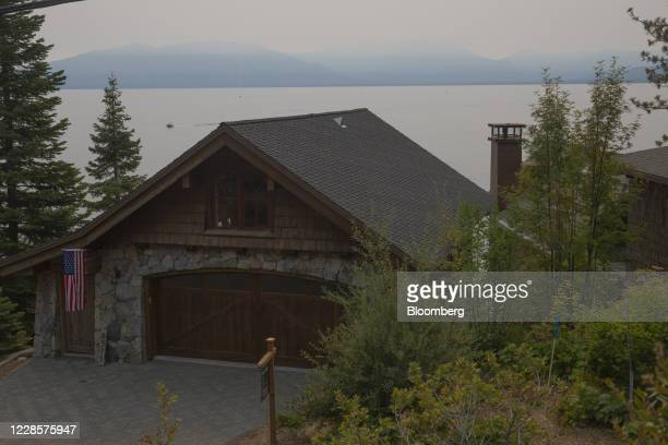 Home for sale near Emerald Bay in Lake Tahoe, California, U.S., on Monday, Sept. 7, 2020. With many companies from the tech-heavy Bay Area embracing...