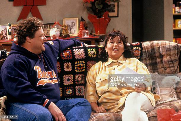 ROSEANNE 'Home for the Holidays' Season Nine 12/17/96 John Goodman Roseanne Barr on the ABC Television Network comedy 'Roseanne' 'Roseanne' is the...