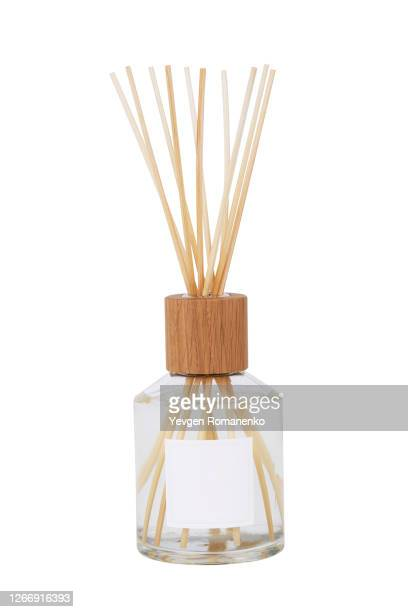 home fragrance diffuser with wooden sticks - incense stock pictures, royalty-free photos & images