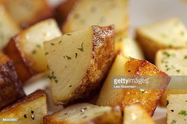 home fries - prepared potato stock pictures, royalty-free photos & images