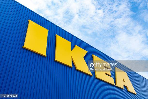 IKEA home furniture store on April 18 2020 in Zwolle Netherlands IKEA announced it will reopen its stores in The Netherlands on April 29 after having...