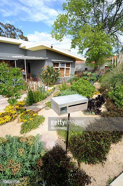 A home garden features drought resistant plants in Coburg a northern suburb of Melbourne Australia on Friday Oct 22 2010 Australia is the world's...
