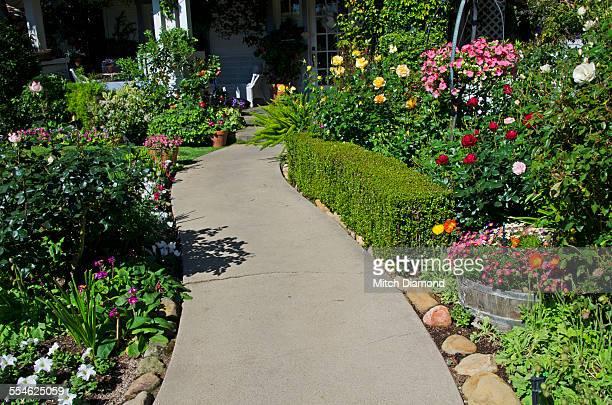 home garden walkway