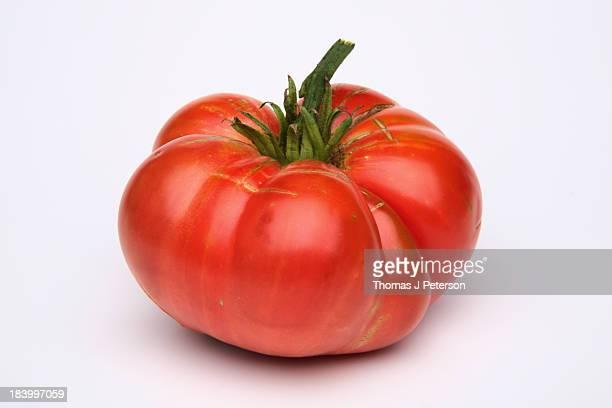 Home grown brandywine heirloom tomato