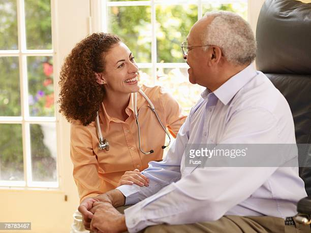 home health care - gerontology stock pictures, royalty-free photos & images