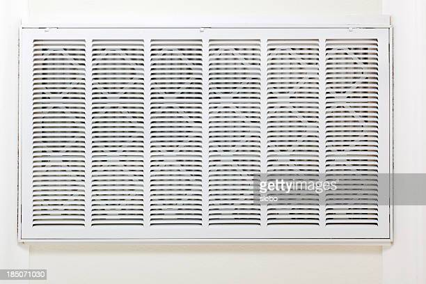 Home Heating and Air Conditioner Central front end return