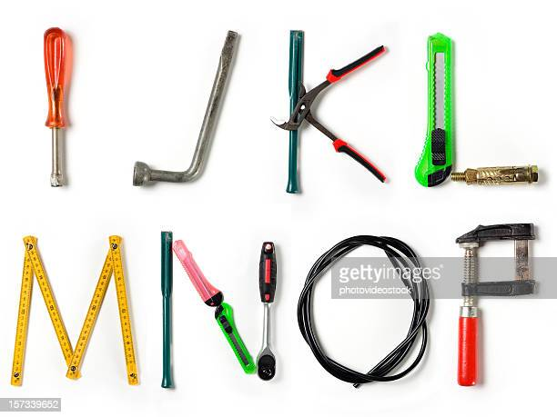 xxl home improvement alphabet - letter n stock pictures, royalty-free photos & images