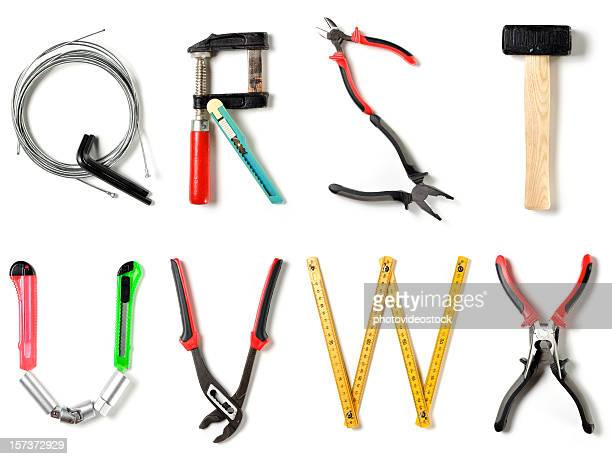 xxl home improvement alphabet - letter s stock pictures, royalty-free photos & images