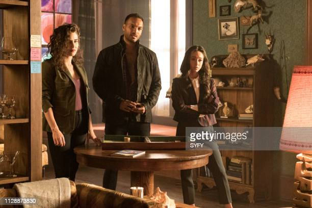 THE MAGICIANS Home Improvement Episode 408 Pictured Jade Tailor as Kady OrloffDiaz Arjun Gupta as Penny Adiyodi Stella Maeve as Julia Wicker