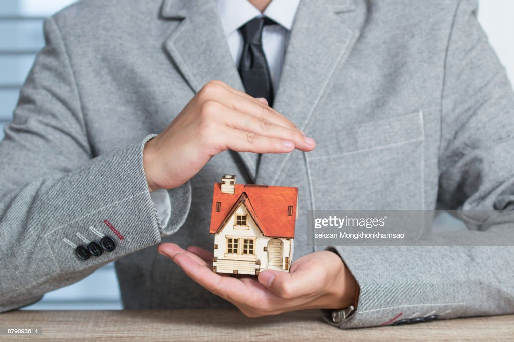 Home insurance : Stock Photo