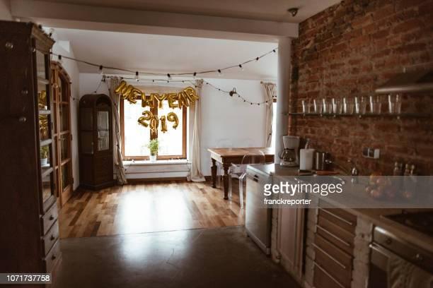 página vista interior de una casa para 2019 - 2019 fotografías e imágenes de stock