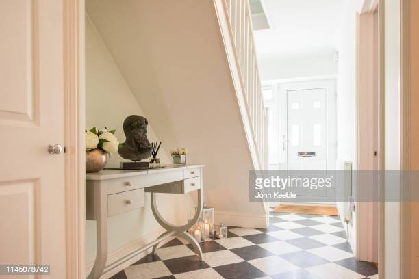 home interiors - corridor stock pictures, royalty-free photos & images