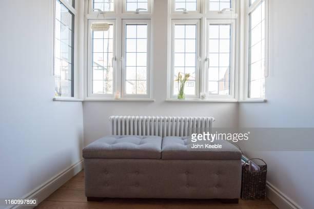 home interiors - ottomane stockfoto's en -beelden