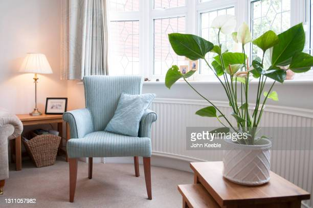 home interiors - living room stock pictures, royalty-free photos & images