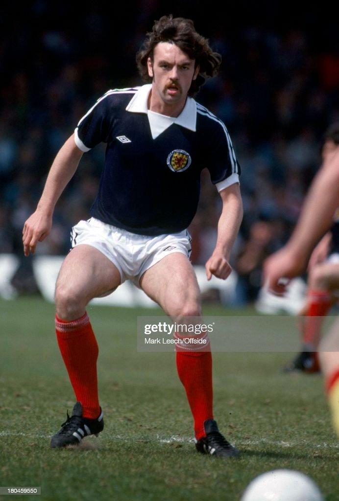 Home International Football.Scotland v Wales.John Wark.