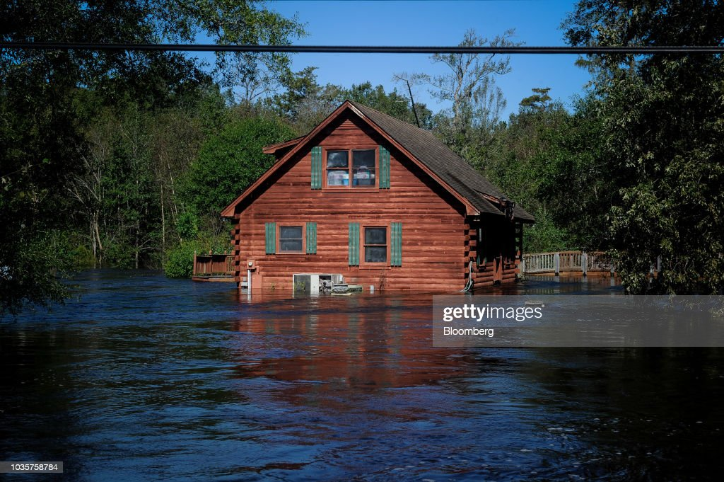 Aftermath Of Florence As Floods Obscure Damage Inflicted