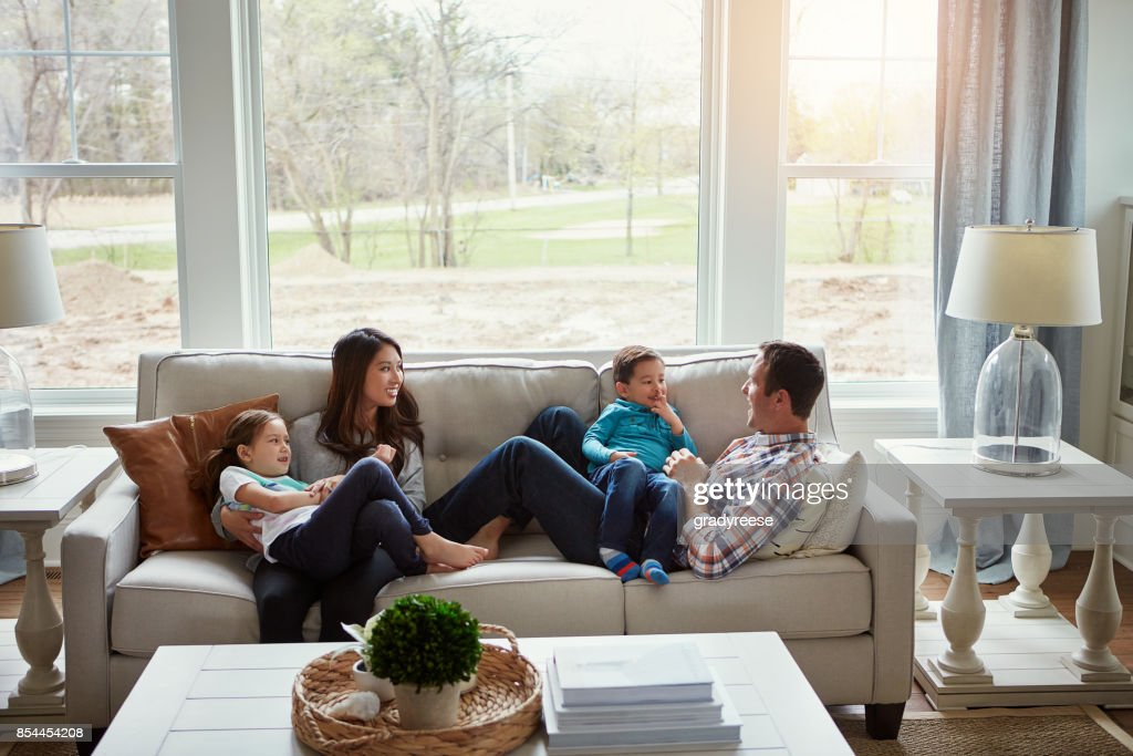 Home is where love lives : Stock Photo