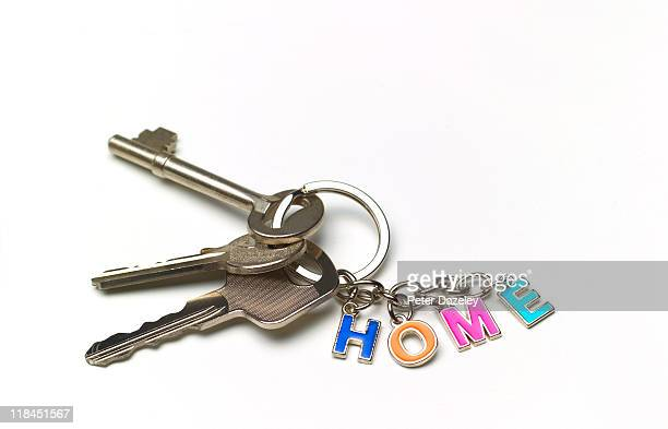 Home keys with copy space