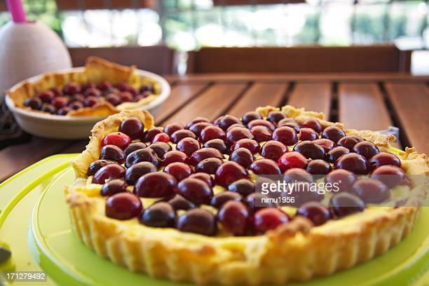 Hausgemachte cherry pie