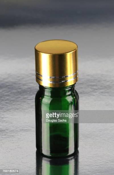 Home made Essential Oil bottle for alternative healthcare