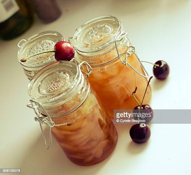 Home made pear jam