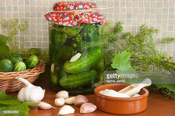 home made pickles - polish culture stock pictures, royalty-free photos & images