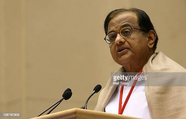 Home Minister PChidambaram addressing the conference of Chief Ministers on Internal Security in New Delhi on Tuesday