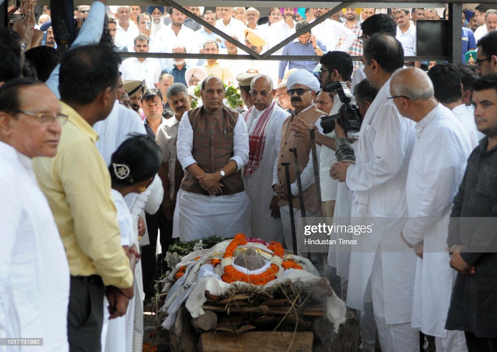 Governor of Chhattisgarh Balram Das Tandon Cremated With Full State Honors In Chandigarh