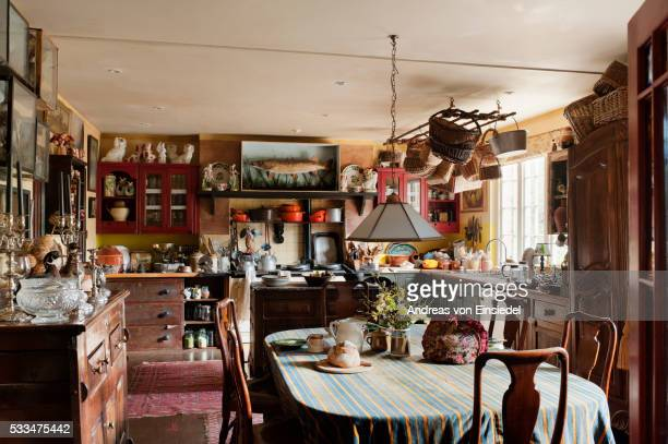 Home of antiques dealer Vicky Heaton-Renshaw