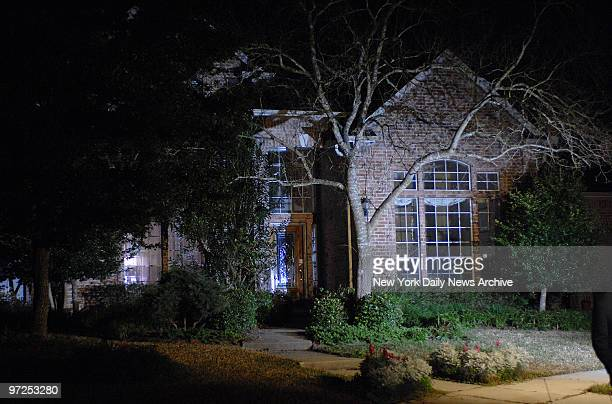 Home of astronaut Lisa Marie Nowak in Houston Texas Nowak has been arrested for planning to kidnap and murder Colleen Shipman