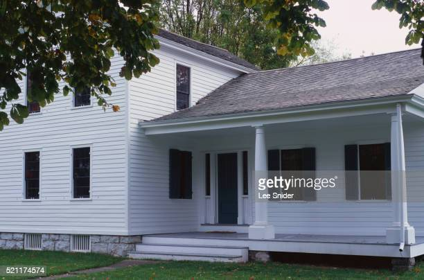 home of elizabeth cady stanton - suffragette stock pictures, royalty-free photos & images