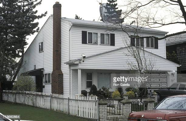 Home of John Gotti during Wedding of John Gotti Jr April 21 1990 at Gotti Home in Howard Beach Long Island New York United States