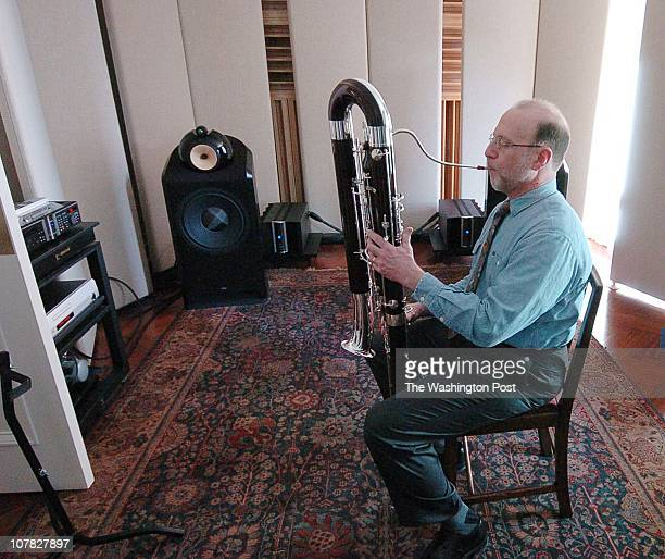 Home of Lewis Lipnick in Washington DC Lewis Lipnick contrabassoon player in the National Symphony Orchestra is heading to play in Europe next week...