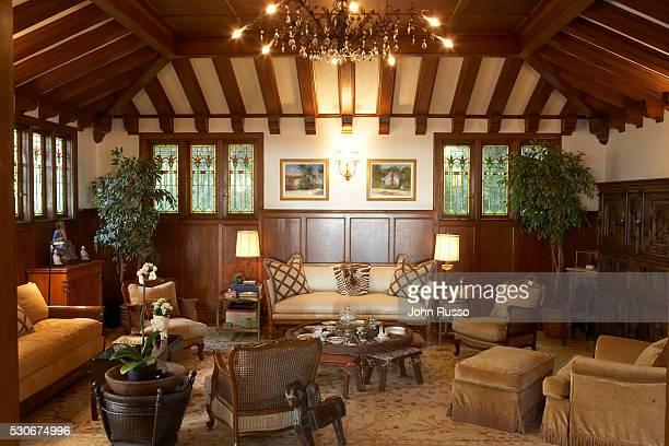 Home of Michael Feinstein: Living Room