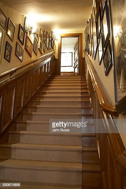 Home of Michael Feinstein: Stairway