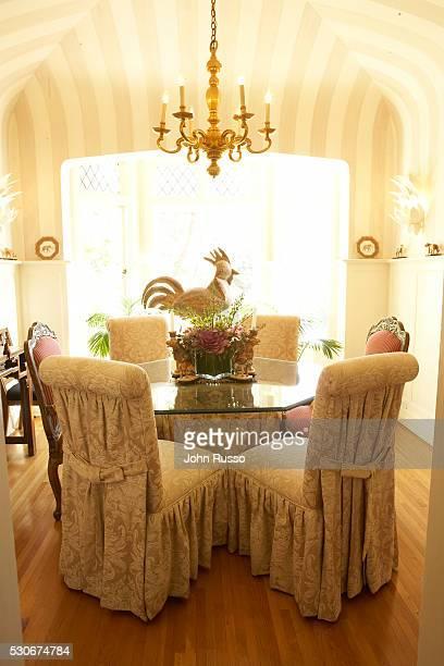Home of Michael Feinstein: Sunny Breakfast Room