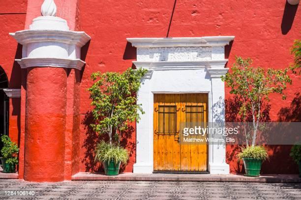 Home of mummified body of Juanita, Museo Santuarios Andinos, Museum of Andean Sanctuaries, Arequipa, Peru, South America.
